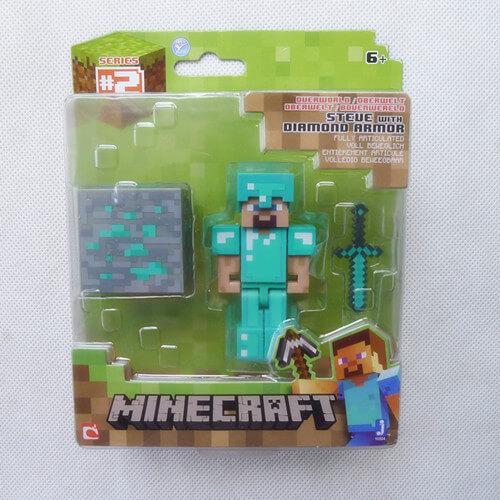 Minecraft-надземным-3-алмаз-стив-фигурку-игрушки-и-игры-по-Jazwares-новый-в-коробке