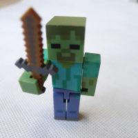Minecraft-Overworld-3-Действие-Рис-Зомби-с-Мечом-По-Jazwares-Свободные