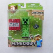 Minecraft-Overworld-4-Creeper-Фигурку-Игрушки-и-Игры-По-Jazwares-Новые-в-Коробке