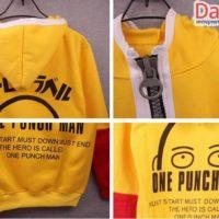 Косплей толстовка Сайтамы из Ванпанчмен (One-Punch Man), детали