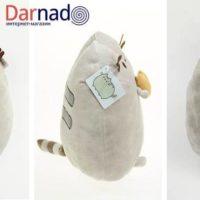 Мягкая игрушка кот Пушин кэт (Pusheen), вид с разных сторон