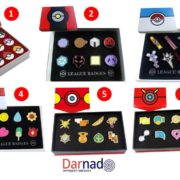Набор значков Покемоны Pokemon, варианты