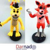 Набор фигурок из игры Фнаф (Fnaf), Фредди и Фокси