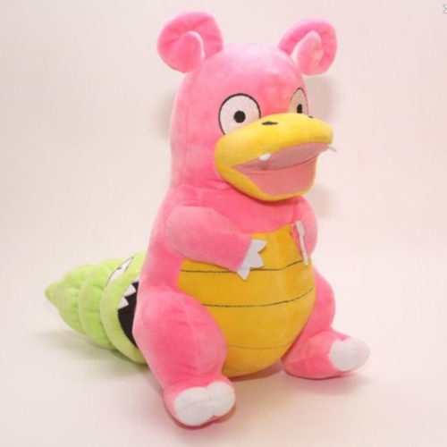 Покемон-Slowpoke-эволюция-Slowbro-чучело-плюшевые-куклы-12-