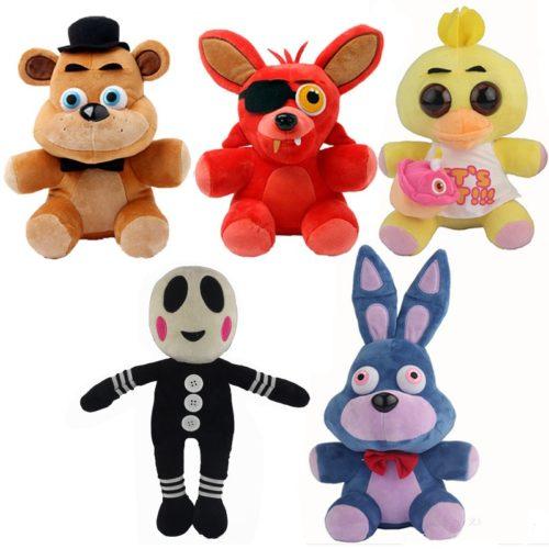 Пять-Ночей-в-фредди-Игрушки-Плюшевые-Куклы-Игрушки-для-Коллекции-медведь-Fox-Duck-Кролик-для-Подарки