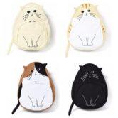Рюкзак кот с ушами (3d) 4 варианта, варианты