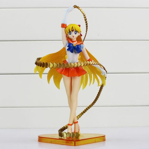 Аниме-Figuarts-нулевой-сейлор-мун-сейлор-венера-минако-айно-20-летие-пвх-фигурку-коллекционная-модель-игрушки