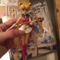 Фигурки Супер Сейлор мун ( Сейлормун Sailor moon ) подвижная, реальное фото