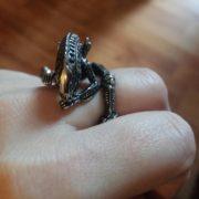 Кольцо Чужой Alien, реальное фото