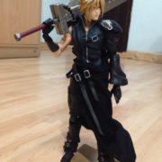 Фигурка Клауд Страйф (Final Fantasy 7) Последняя фантазия 7, реальное фото фигурки