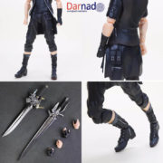 Фигурка принц Ноктис Люцис Каэлум (Final Fantasy xv) Последняя фантазия 15, детали фигурки