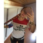 Bita Harli Kvinn (Otryad Samoubijc Suicide Squad), real'noe foto
