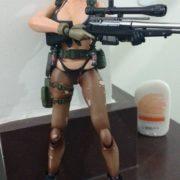Figurka Molchun'i iz mgs (Metal gir Metal Gear Solid 5), real'noe foto figurki
