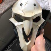 Maska ZHneca Overwatch Overvotch, real'noe foto