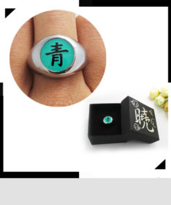На картинке вариант бирюзовый для Кольцо Акацуки (1 шт), общий вид.