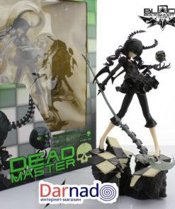 На картинке фигурка Dead Master (Black Rock Shooter), общий вид.