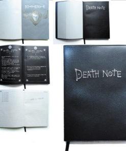 На картинке тетрадь смерти из аниме Death Note (3 варианта), тетрадь в открытом виде.
