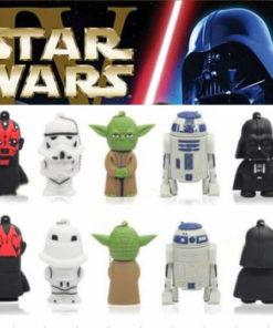 На картинке набор флешек по Звездным Войнам (Star Wars), вариант Все 5 штук.