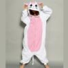 На картинке пижама-кигуруми «Кошка», вид спереди.