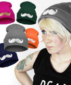 На картинке шапка с усами (6 вариантов), общий вид, 5 вариантов.