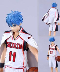 На картинке фигурка Тетсуя Куроко (Kuroko Tetsuya) Баскетбол Куроко, вид спереди и сзади.