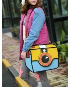 На картинке сумка 2 д «Фотоаппарат», общий вид.