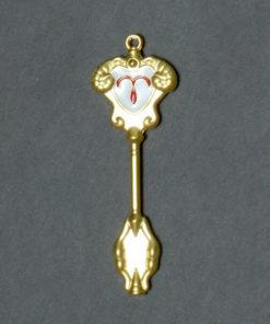 На картинке ключ Овна (Хвост феи), общий вид.