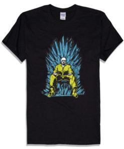 На картинке футболка «Игра престолов» и «Во все тяжкие», вид спереди.