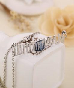 На картинке ожерелье «Доктор Кто».