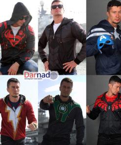 На картинке толстовка «Мстители» (Марвел \ Marvel), вид спереди, 6 вариантов.