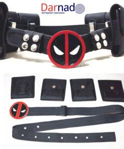 На картинке косплей-ремень Дэдпула (Дедпул \ Deadpool), общий вид.