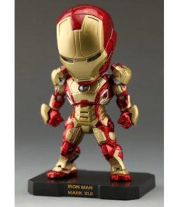 На картинке фигурка нендроид Железный Человек Марк 42 (Iron Man Mark 42), вид спереди.